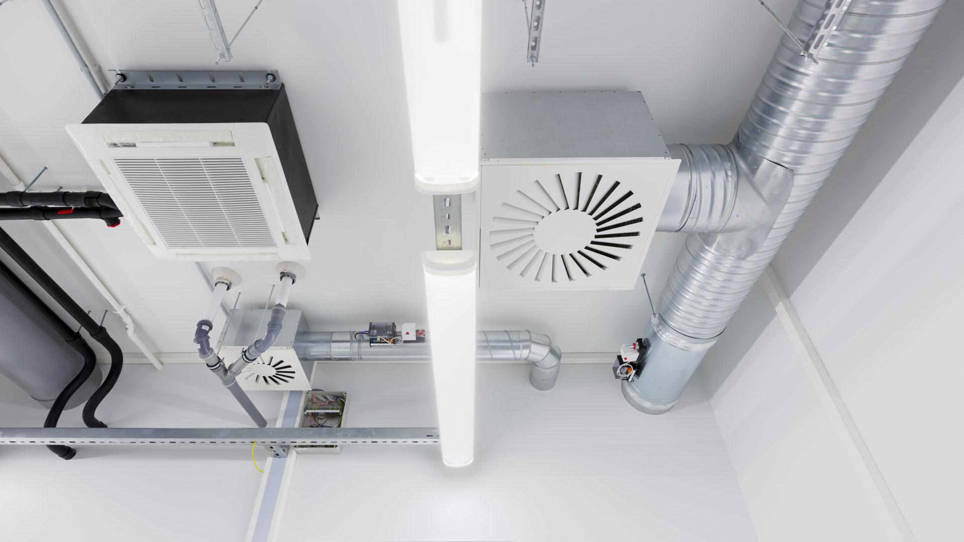 Fresh Air Ventilation Systems supply ventilation system