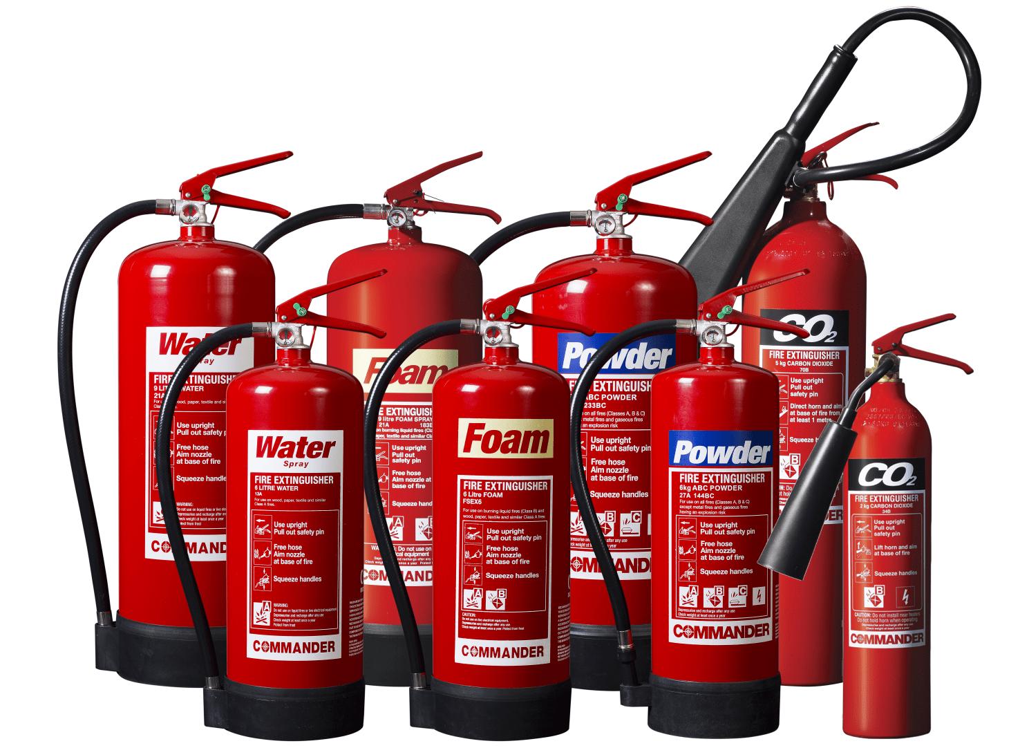 extinguishers types Fire Extinguishing