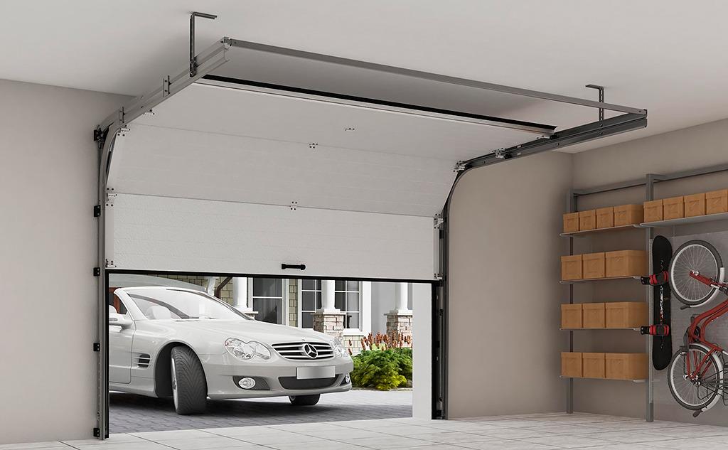 automated garag gate باب الجراج