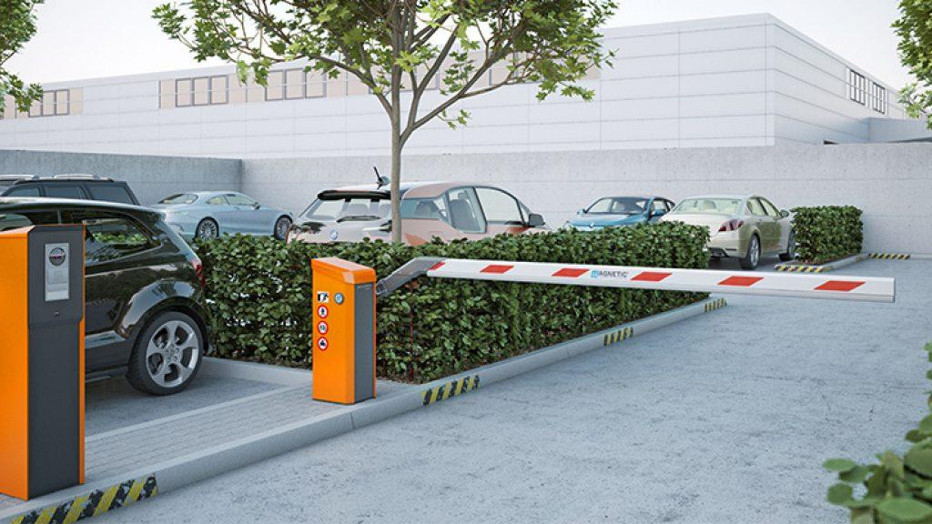 auto barrier gate system بوابات السيارات الأوتوماتيكية